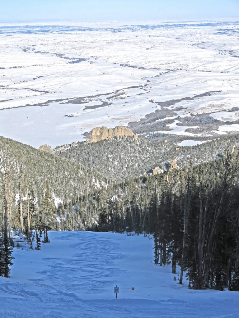 View of Palisades from Drifter at Red Lodge, December 2016