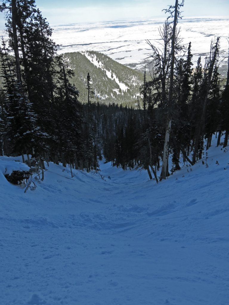 Buckin Chute at Red Lodge, December 2016