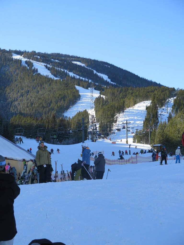 Red Lodge base area, December 2016
