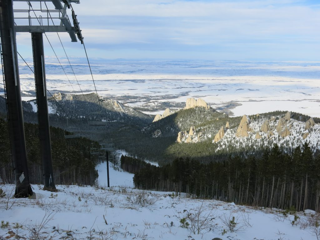 Palisades chair at Red Lodge, December 2016