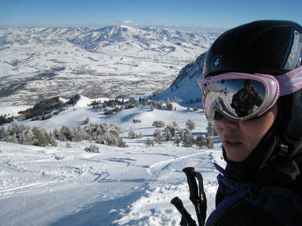 Powder field at Snowbasin, February 2008