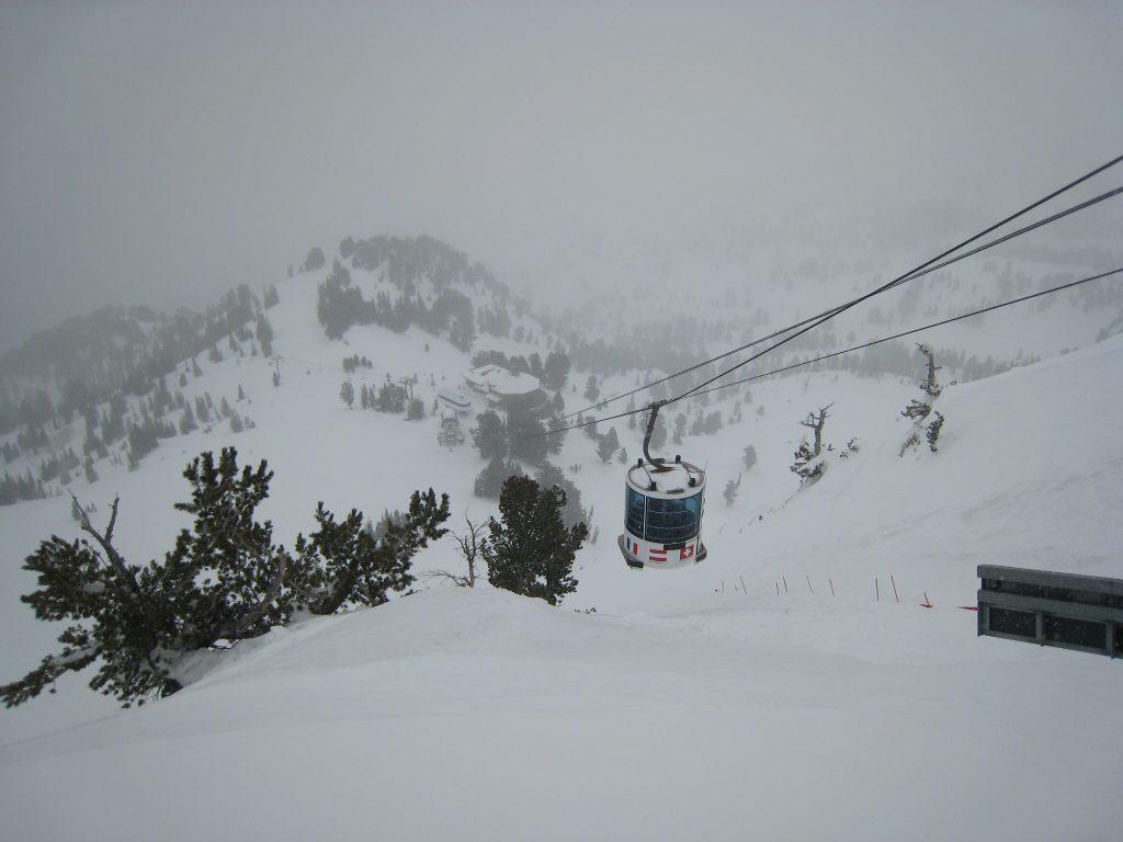 Snowbasin Tram, February 2011
