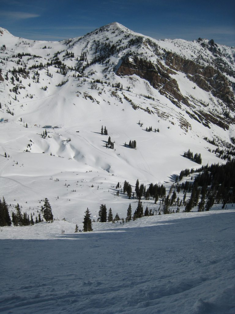 Bookends at Snowbird, March 2014