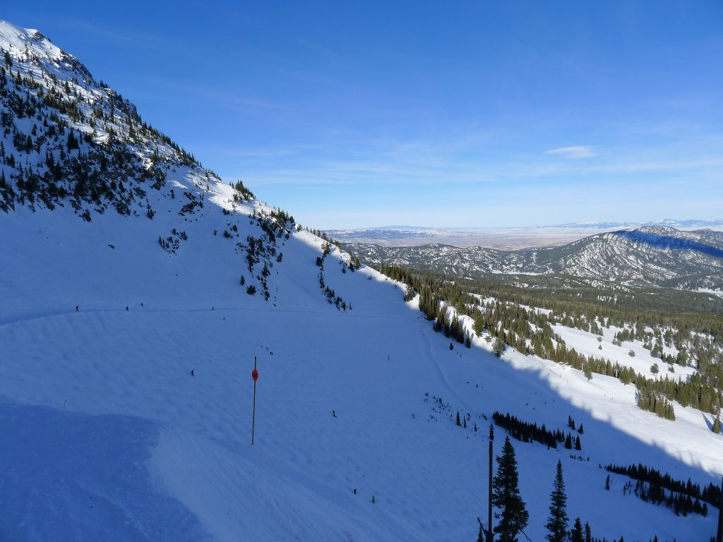 North Bowl at Bridger Bowl, January 2014