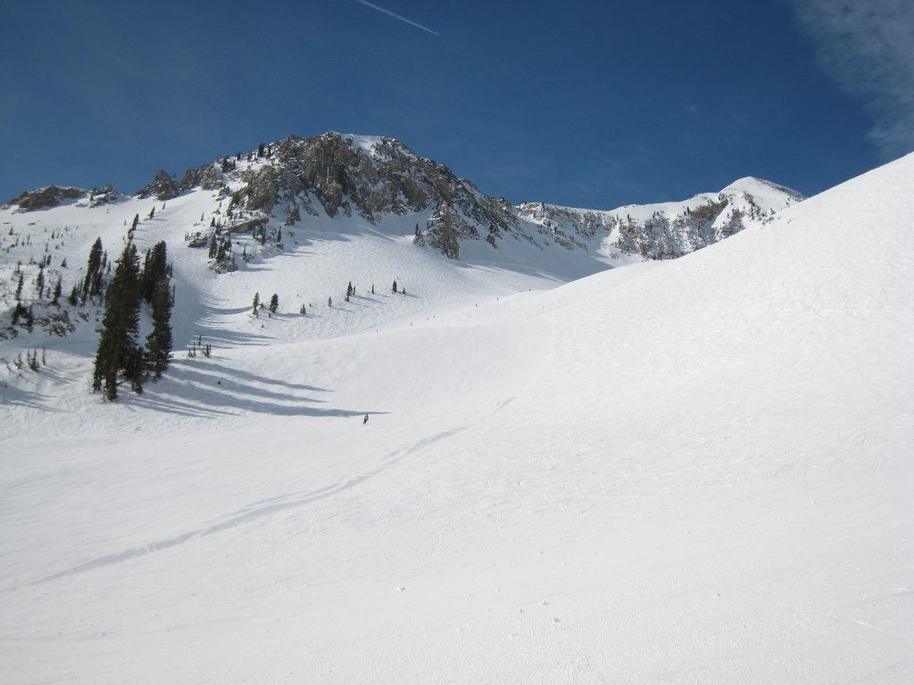 Mineral Basin at Snowbird, March 2013