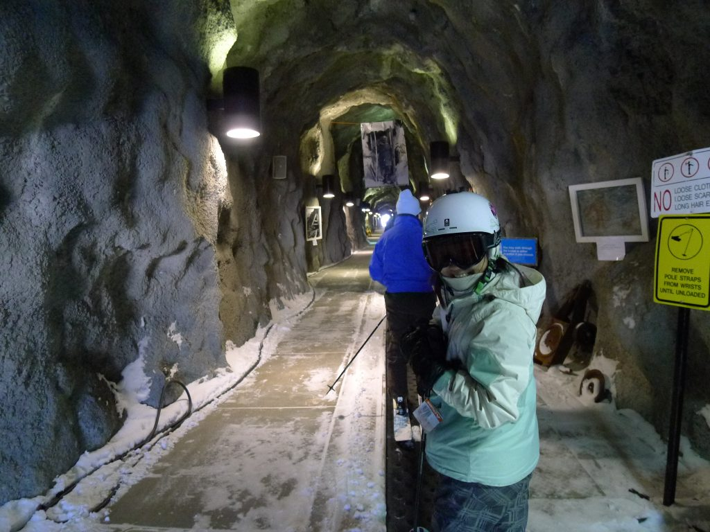 Snowbird tunnel, February 2014