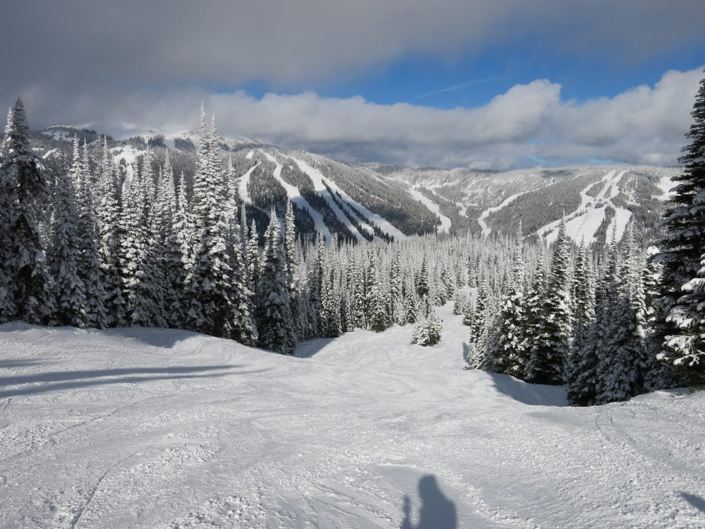 Soft snow at Sun Peaks