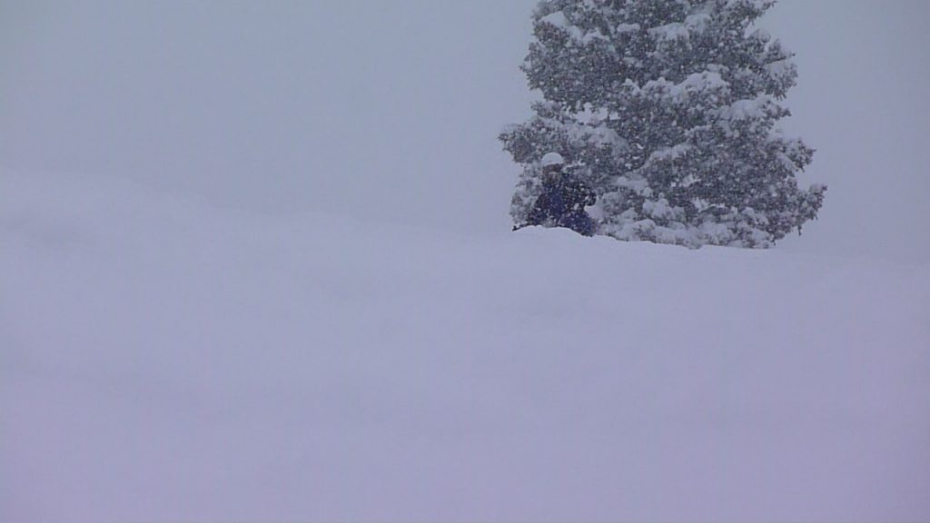 Deep powder at Solitude, February 2011