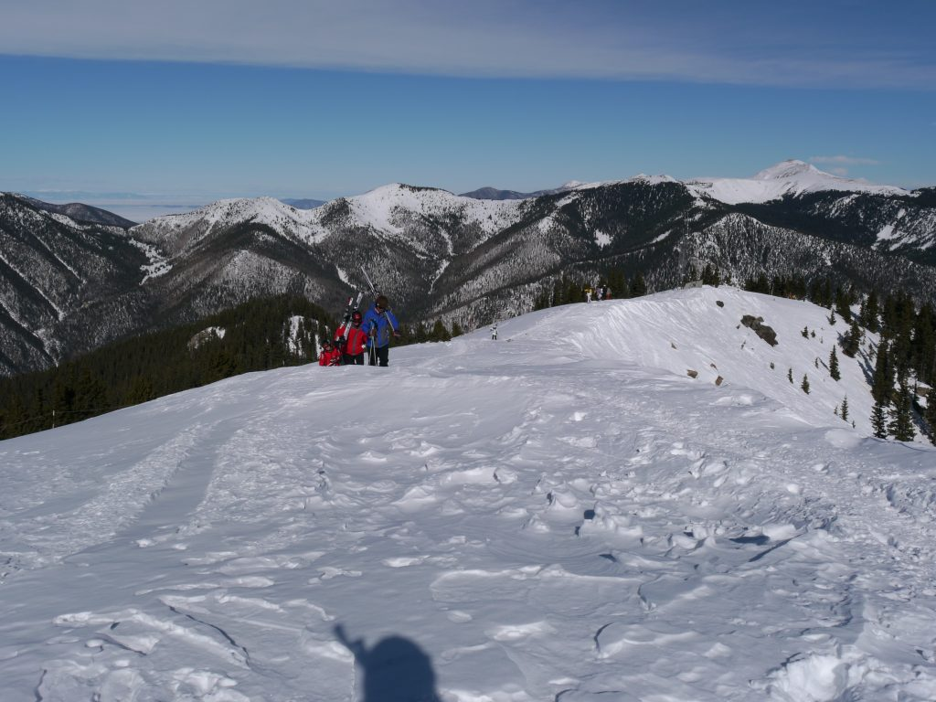Top of the Ridge at Taos, December 2011