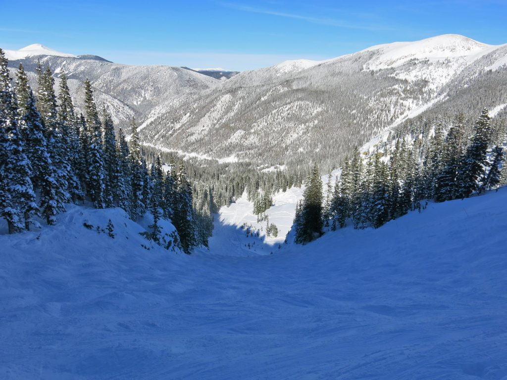 Hunziker Bowl at Taos, January 2015