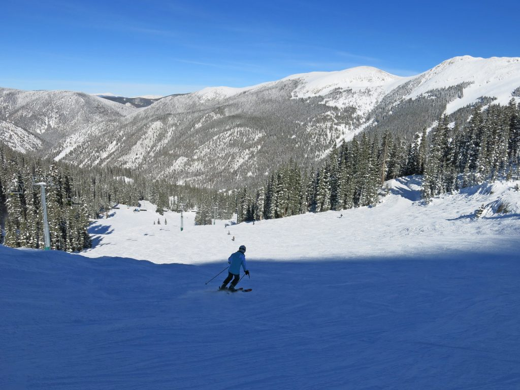 Backside Chair 4 terrain at Taos, January 2015
