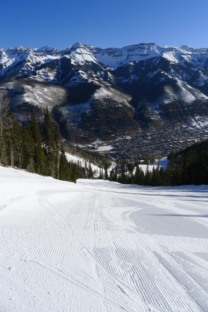 Coonskin in the morning, Telluride, March 2015