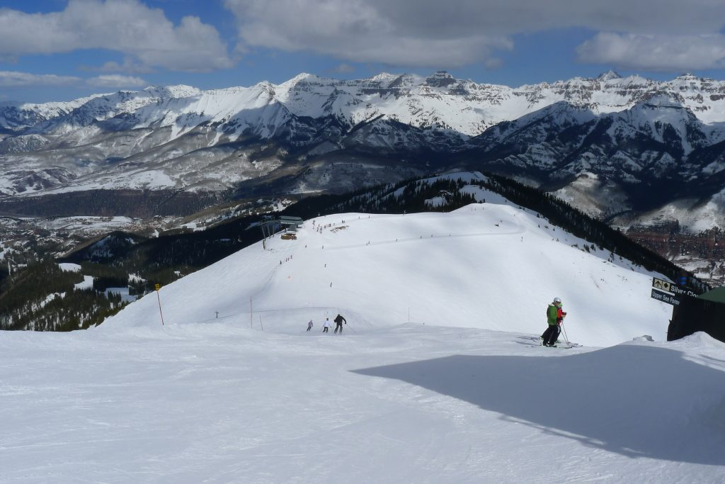 Top of See Forever at Telluride, March 2015