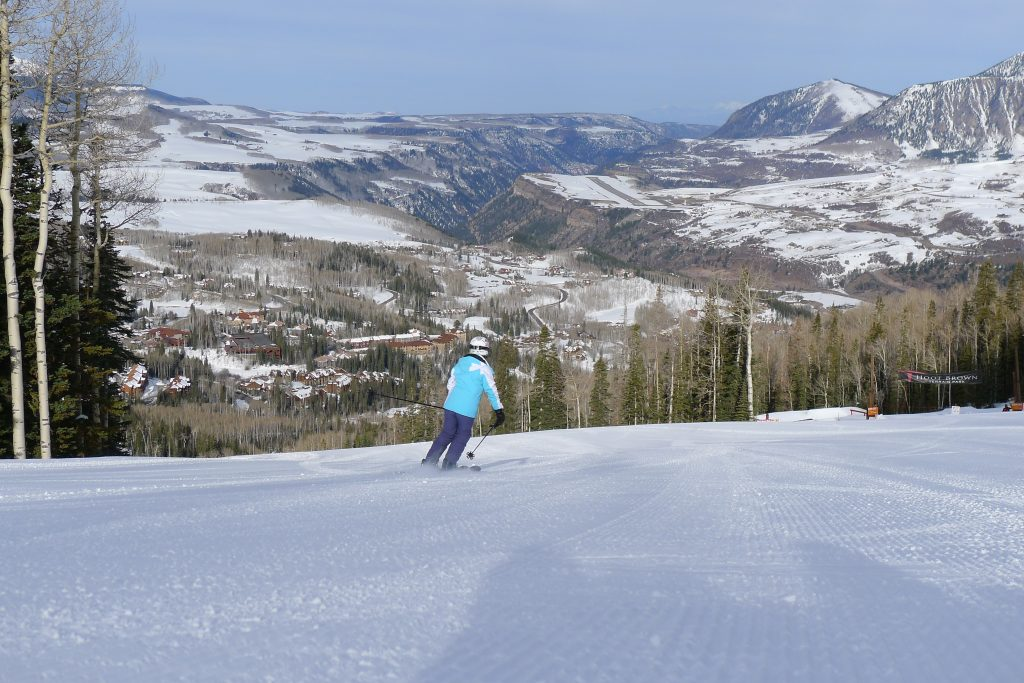 Village Express groomer at Telluride, March 2015