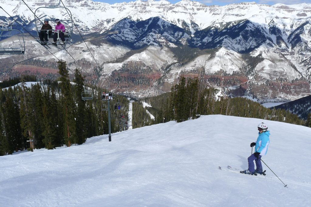 The Plunge lift at Telluride, March 2015