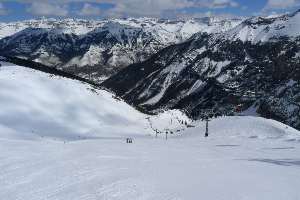 Revelation Bowl at Telluride, March 2015