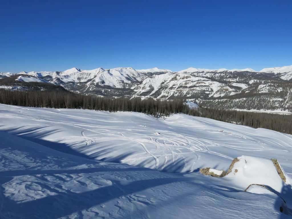Views to the West at Wolf Creek, January 2015