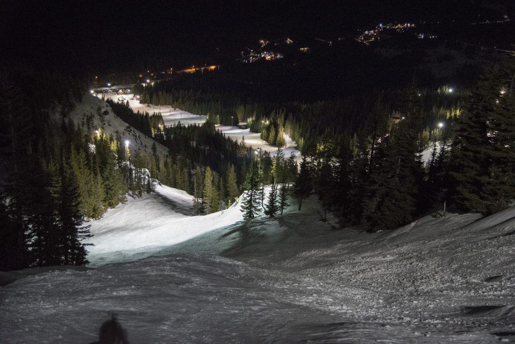 Bob Strand's Downhill, Mt. Hood Skibowl, February 2017