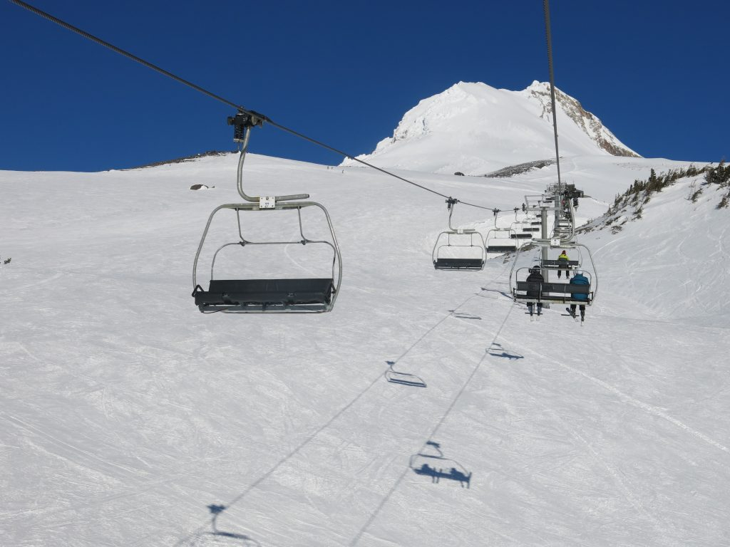 Cascade Express at Mt. Hood Meadow, February 2017