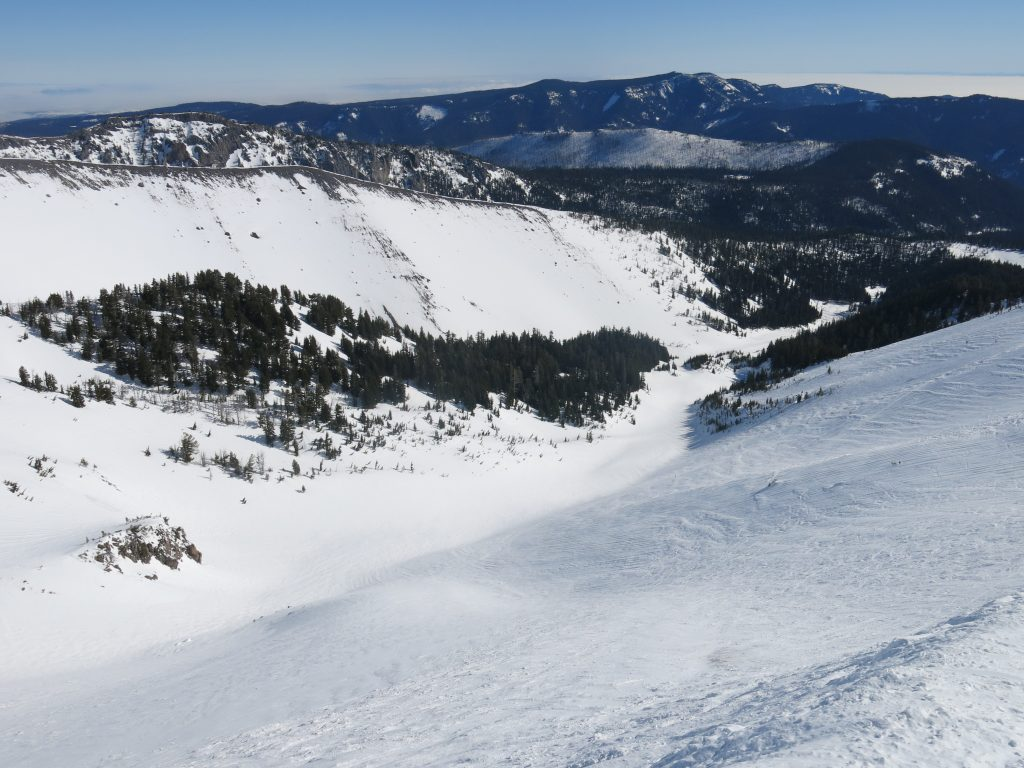 Heather Canyon at Mt. Hood Meadows, February 2017