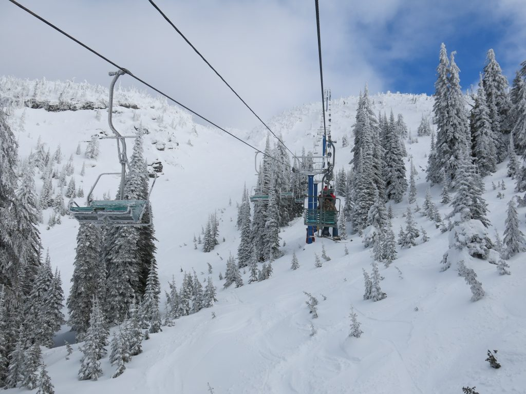 Falcon Chair at Big White, February 2017
