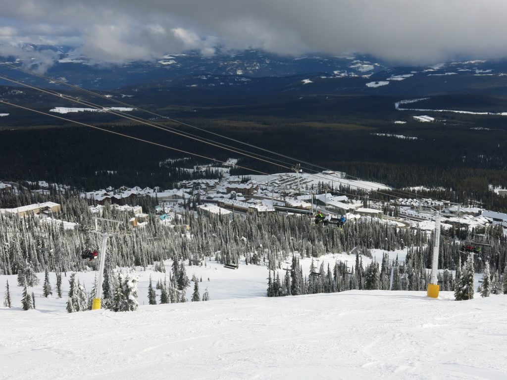 Village at Big White, February 2017