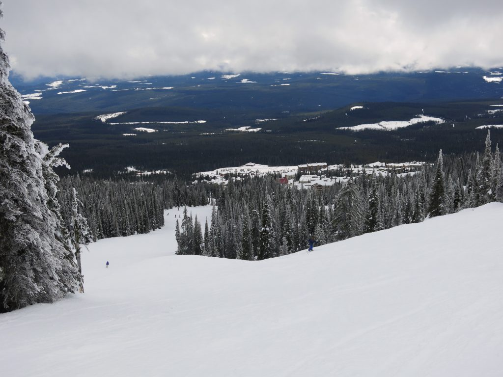 Groomers at Big White, February 2017