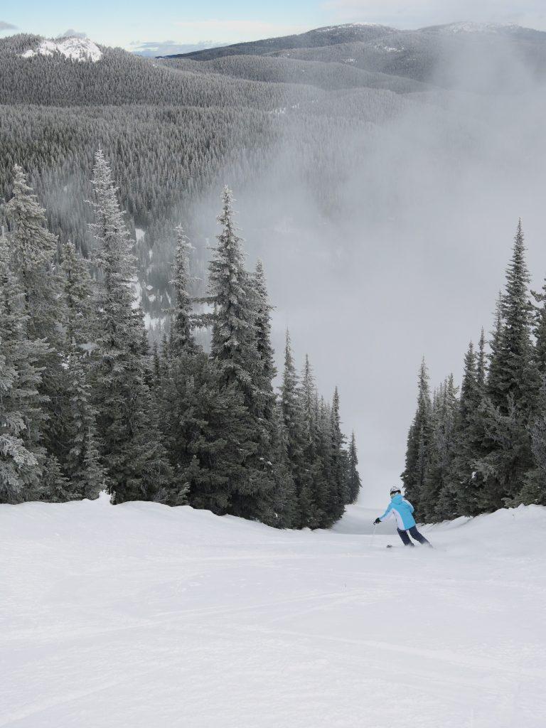 Poma run at Apex Mountain, February 2017