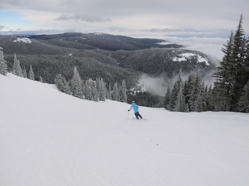 Upper Juniper at Apex Mountain, February 2017