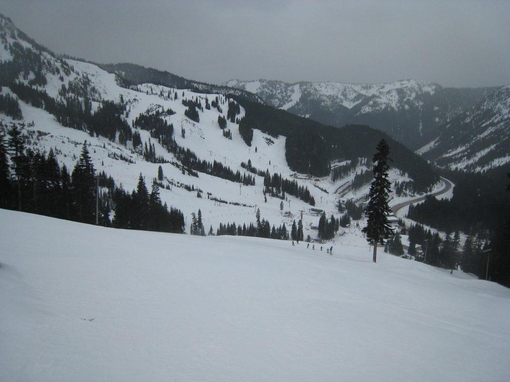 Frontside at Stevens Pass, December 2009