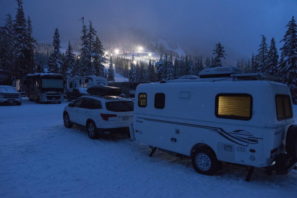 White Pass camping spot