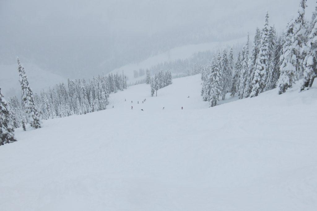 Mill Valley at Stevens Pass, December 2017