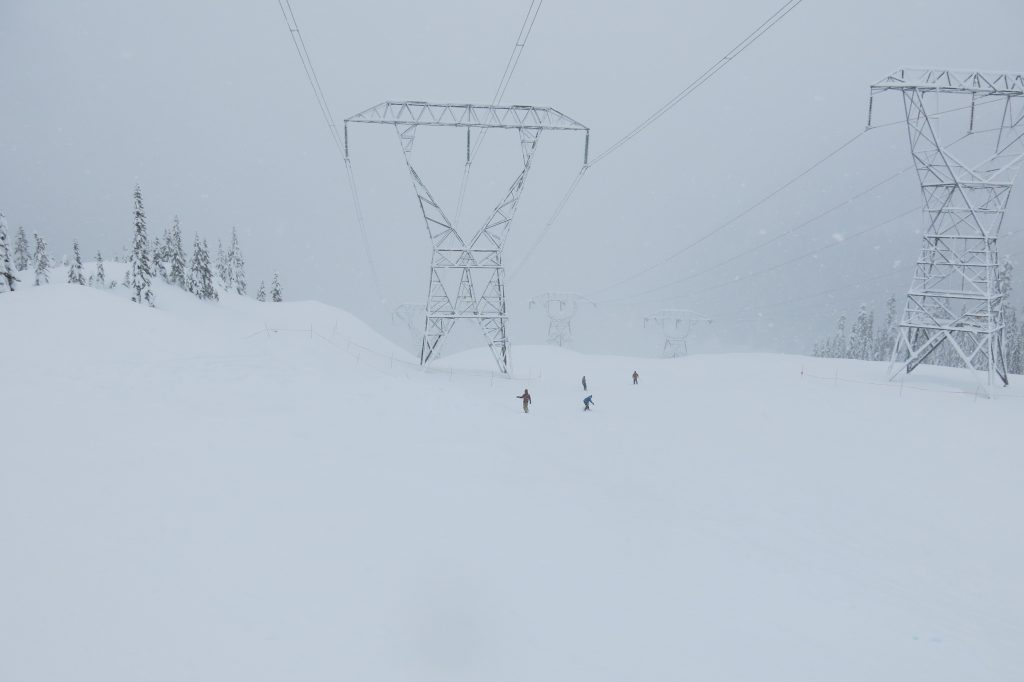 Gemini at Stevens Pass - Mill Valley side, December 2017