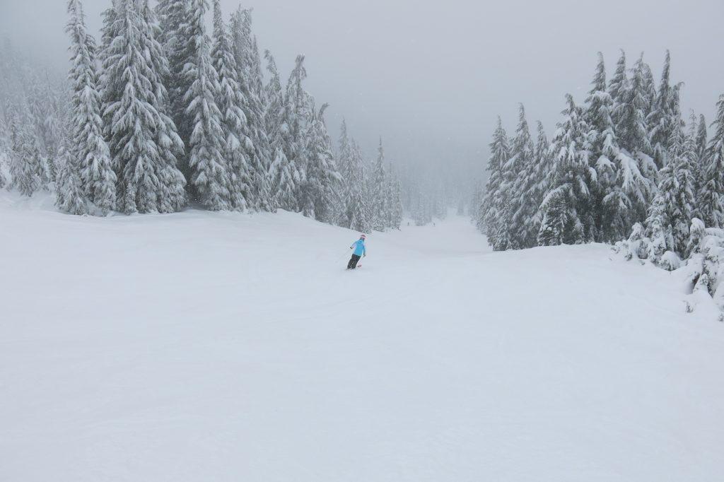 Couloir Express terrain at White Pass, December 2017
