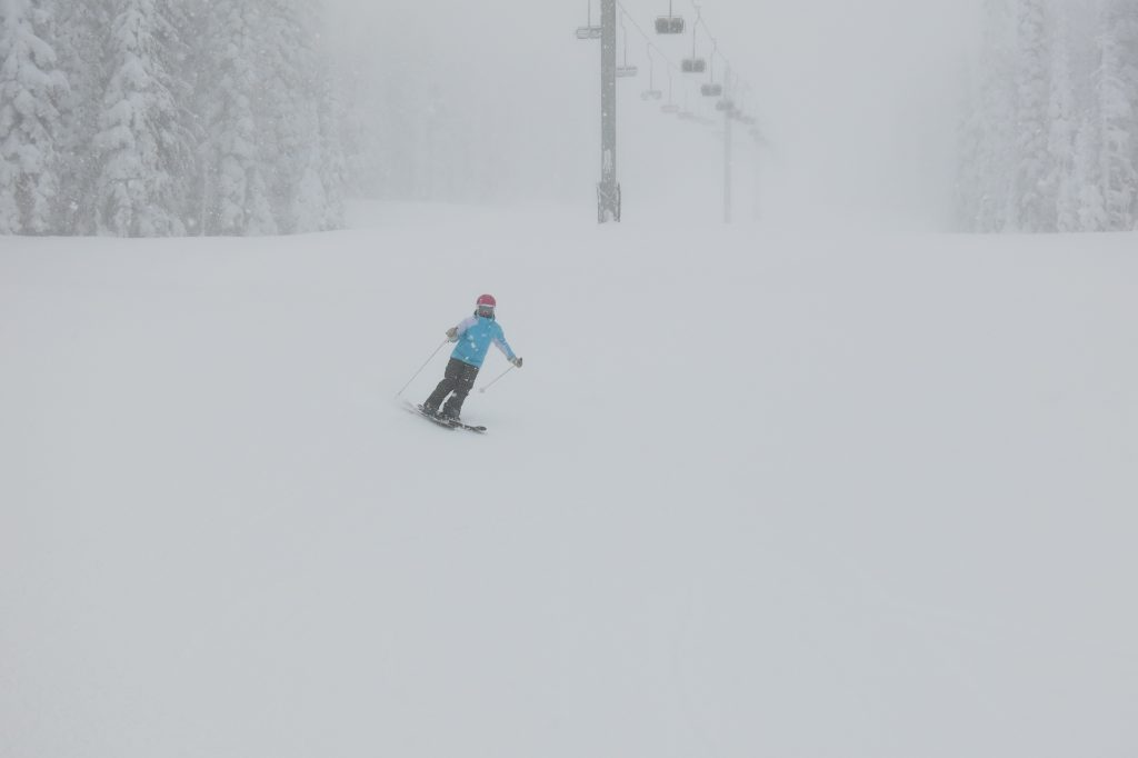 Chair 4 at White Pass, December 2017