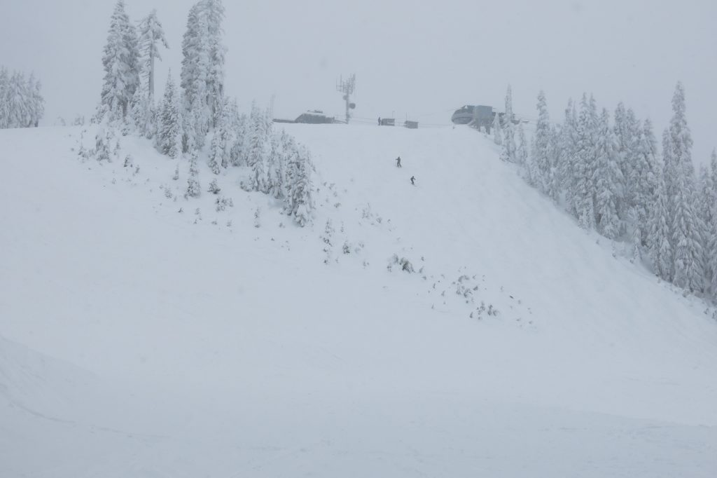 Top of the Great White Express at White Pass, December 2017