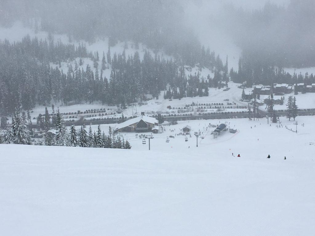 White Pass base area, December 2017
