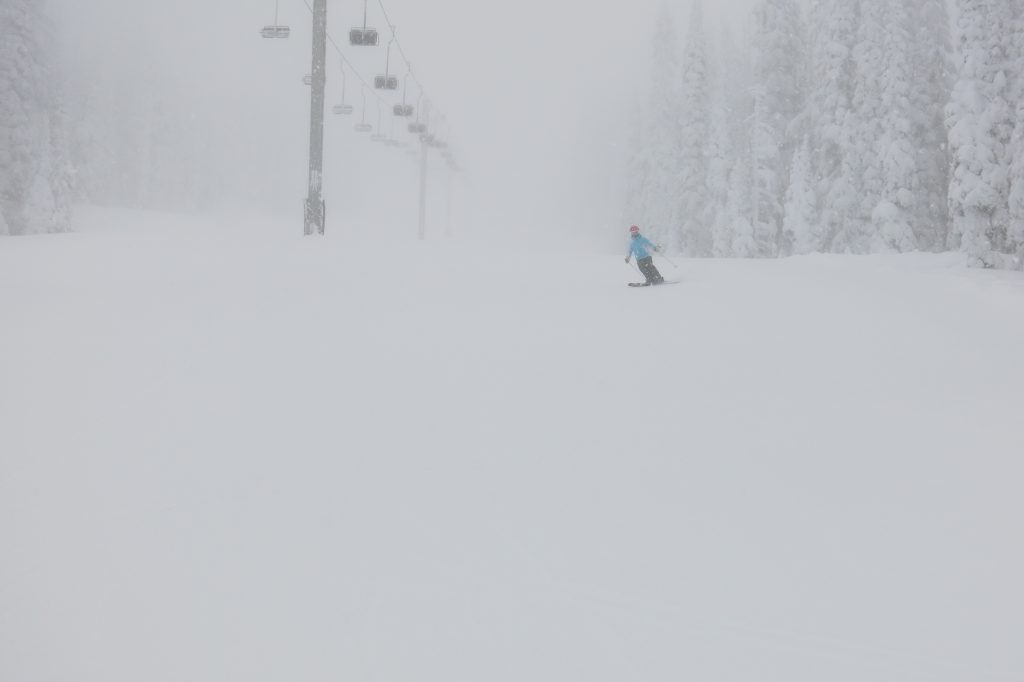 Nice conditions at White Pass
