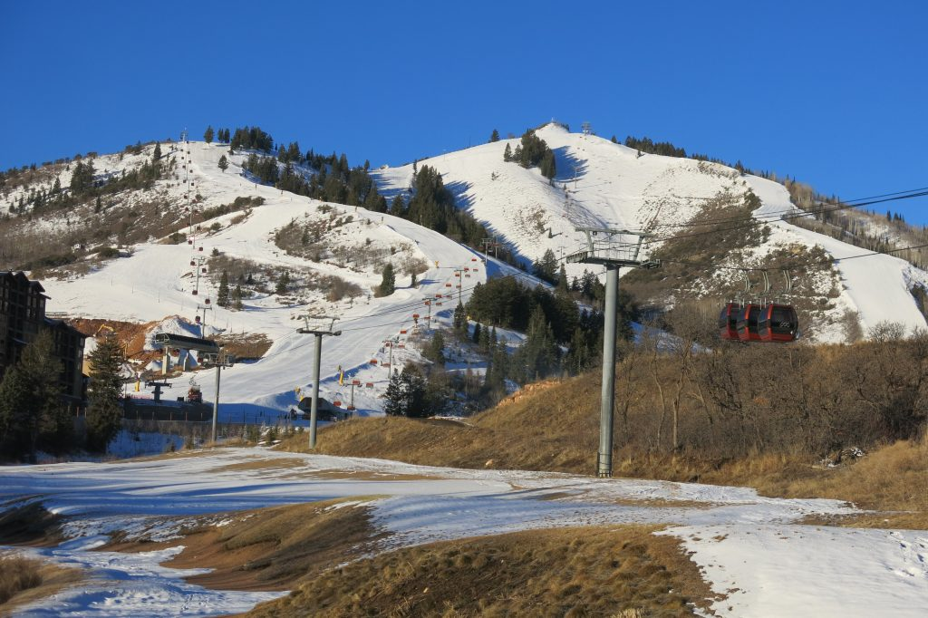 Canyons Village at Park City, February 2018