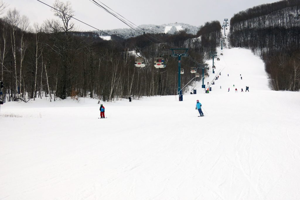 Gondola at Mont-Tremblant, February 2018