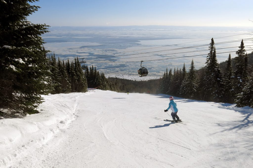 Le Massif, Quebec, February 2018