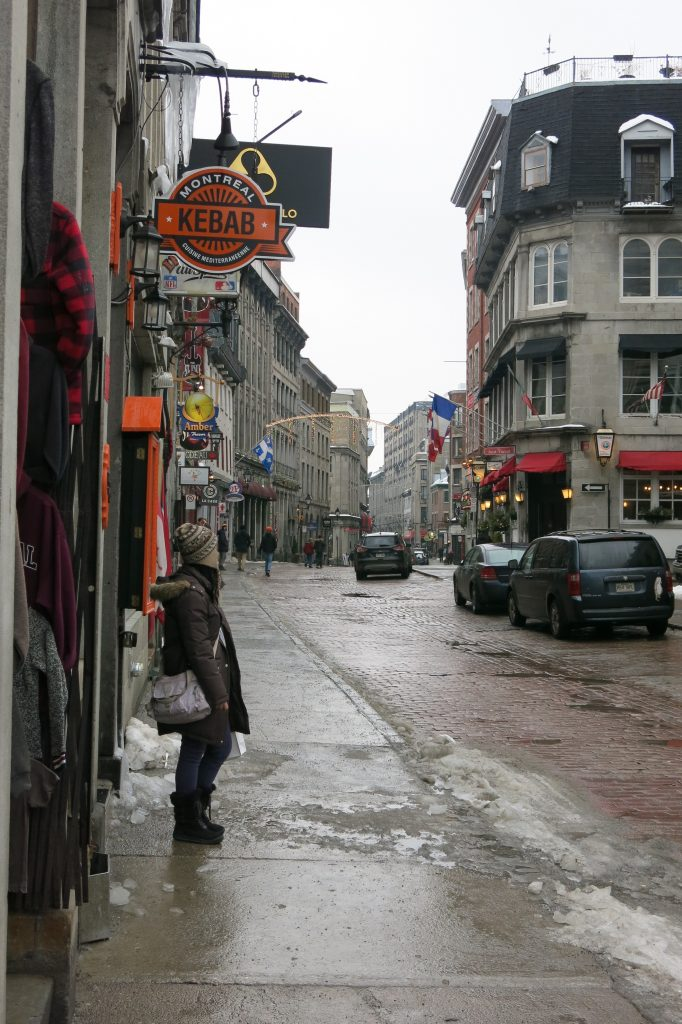 Old Town Montreal, February 2018