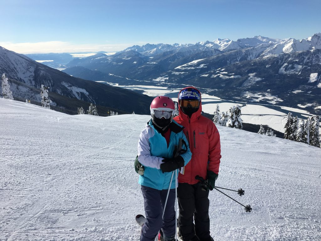 -37C/F wind chill at the top of Revelstoke, February 2018