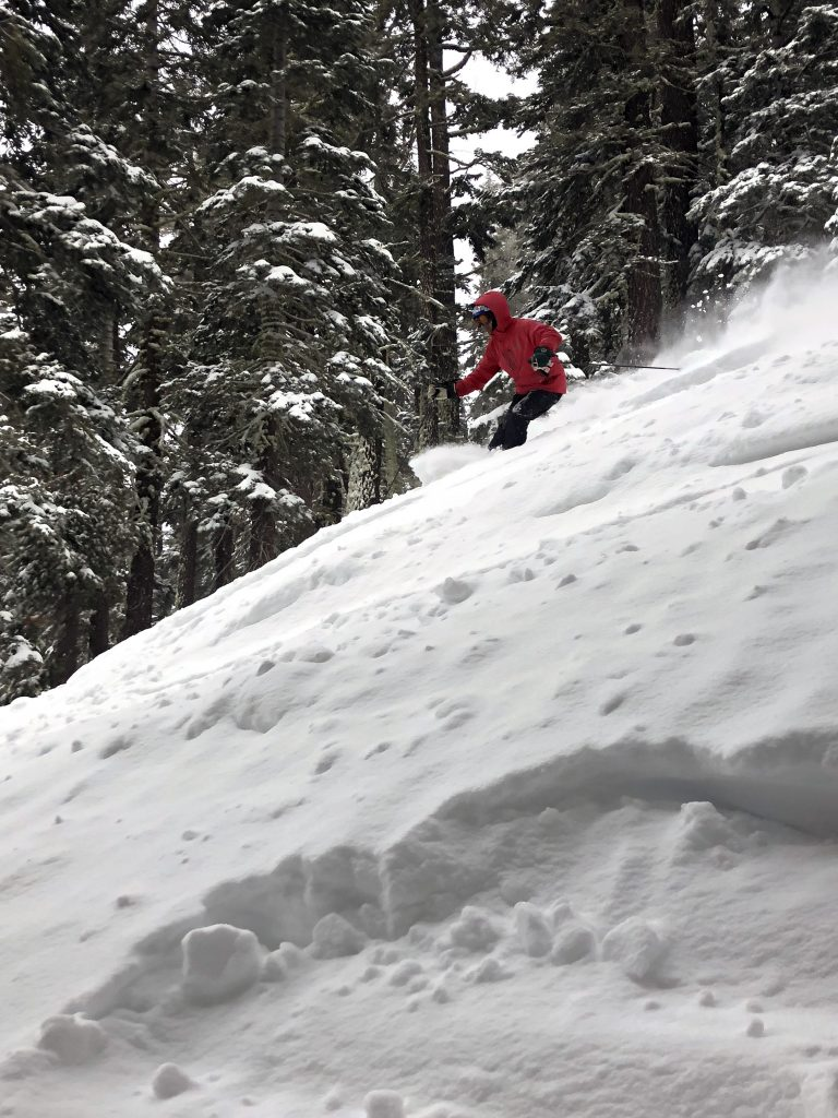 Closing day at Sierra at Tahoe, April 2018