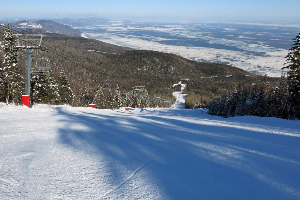 La Bouchard at Le Massif, February 2018