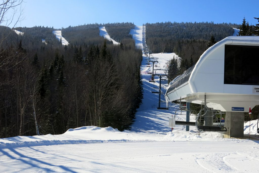 Camp-Boule Express at Le Massif, February 2018