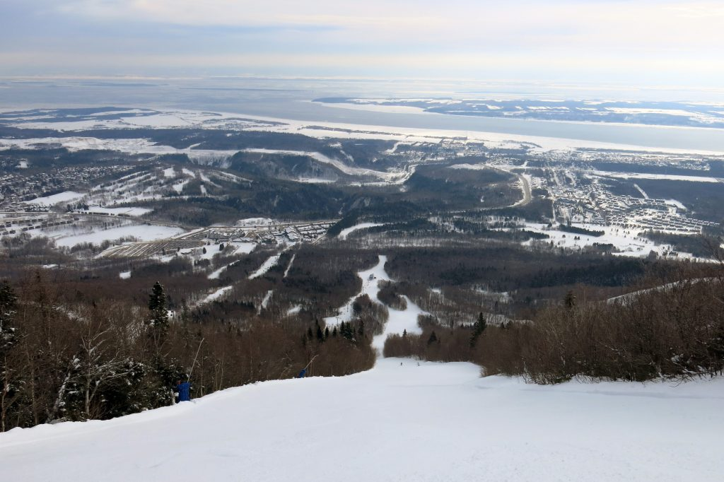 L'Espoir at Mont-Sainte-Anne, Quebec, February 2018