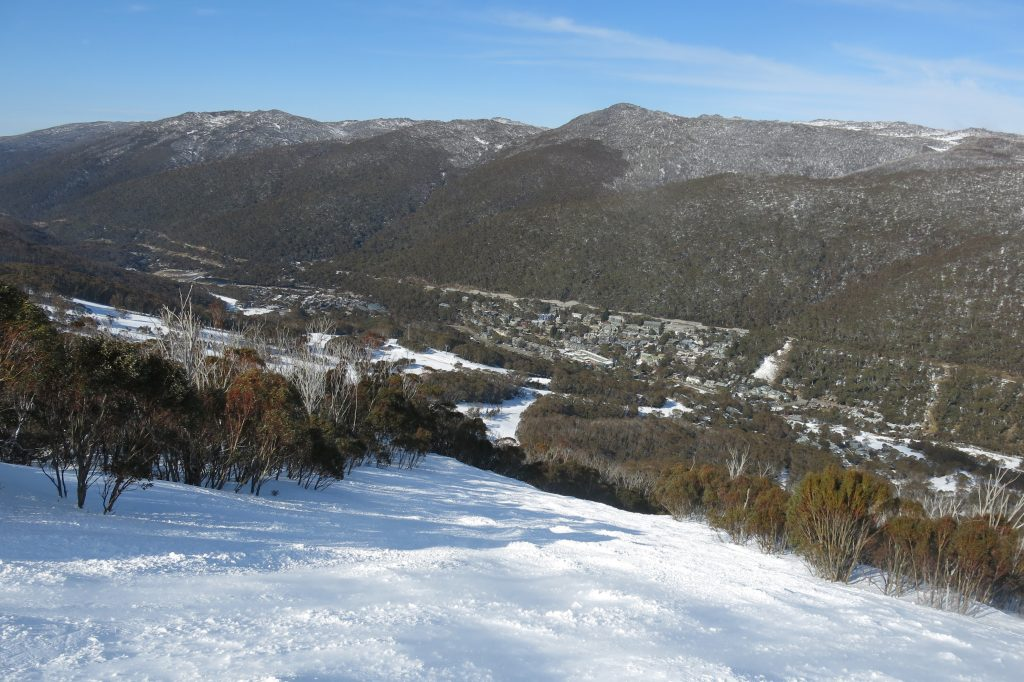 """Funnel Web"" black bump run at Thredbo, August 2018"