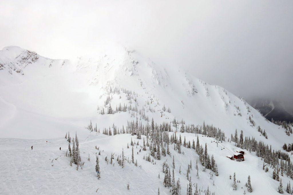 Polar Peak at Fernie, February 2018