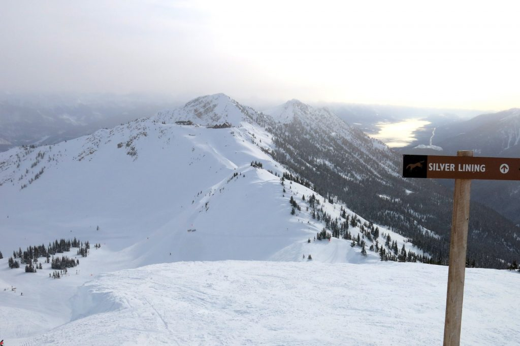 Eagle's Eye from the top of Stairway to Heaven at Kicking Horse, February 2018